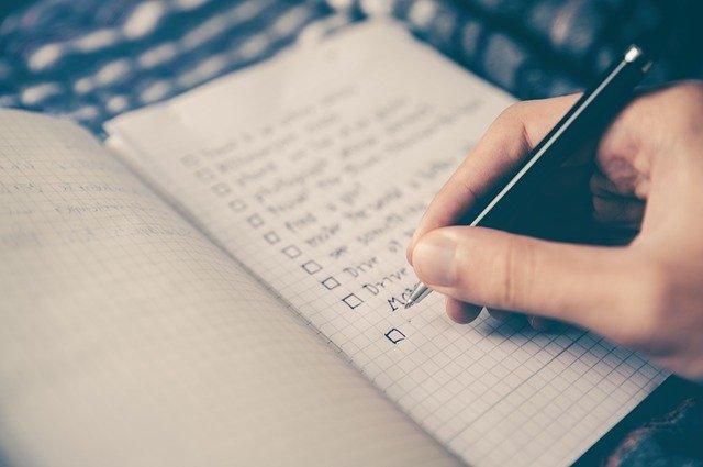 Toujours faire une checklist lors de la réalisation d'un contrat de location